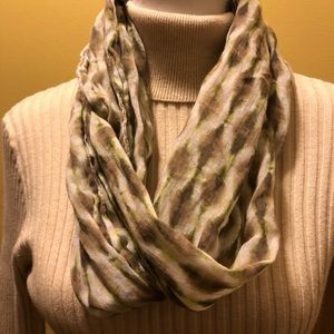J Jill earth tones infinity scarf